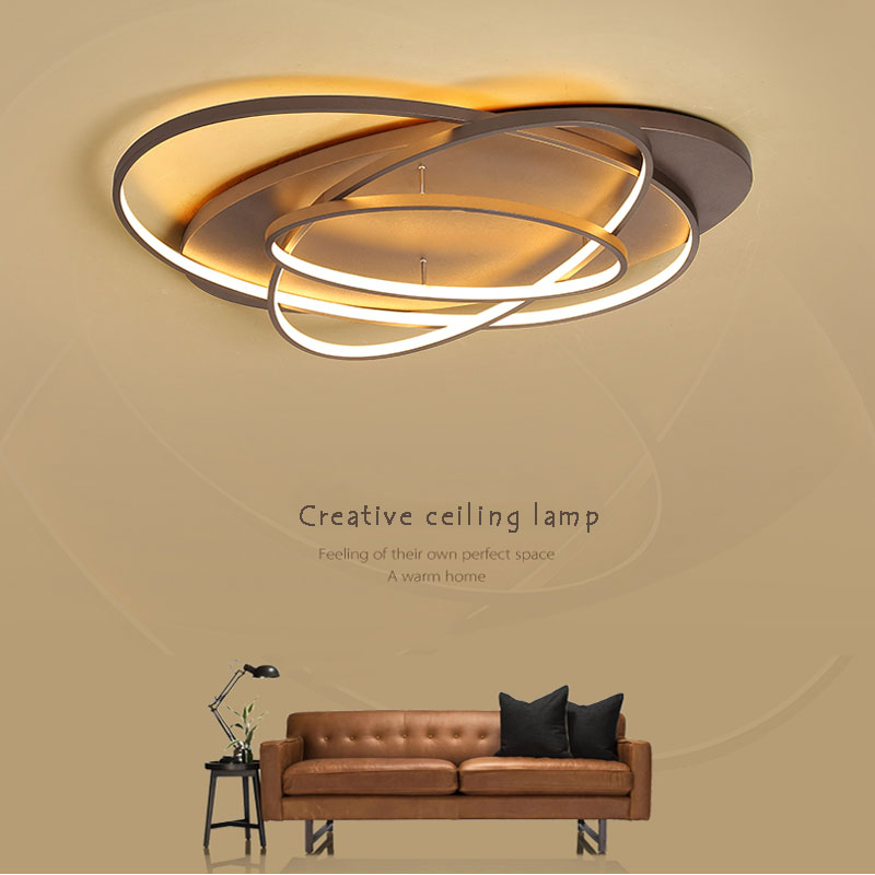 Minimalist Modern Led Chandelier For Living room Bedroom Dining room Creative Led Ceiling Chandelier Lighting Lamparas