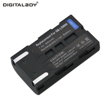 Hot Sale 1pcs Battery SB-LSM80 SB LSM80 SBLSM80 Rechargeable Camera Battery For SAMSUNG VP-DC175 VP-DC565 VP-DC575 SC-D357