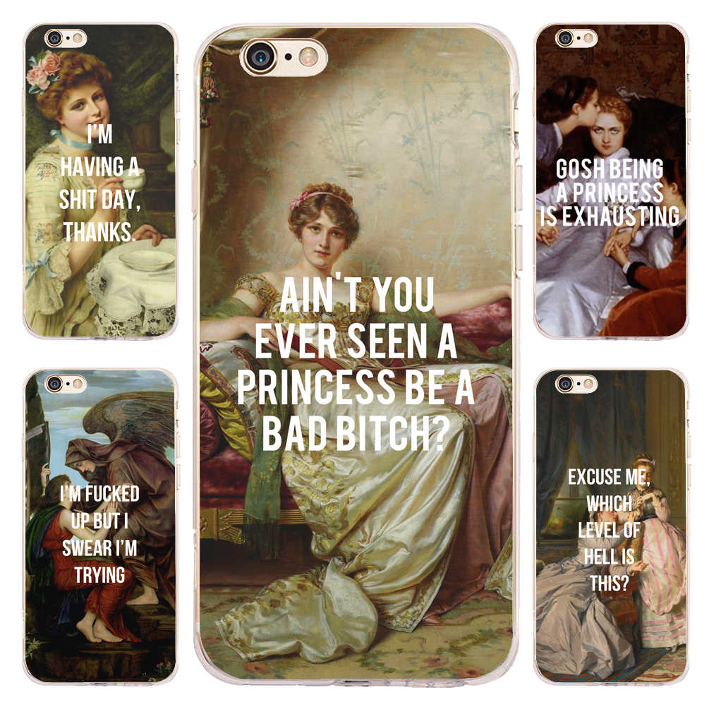 Coque Hip Hop Classic Painting Memes Soft Silicone Phone Cases for ...