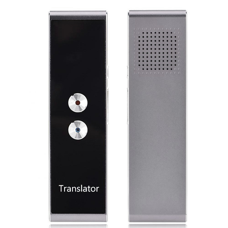 Smart Portable Voice & Text Translator Two-Way Multi-Language Real Time Translation Learning Tourism Travelling Business Meeting