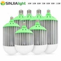 40W 50W 60W 70W 80W 90W 110W E27 E40 LED Bulbs Spotlight led lights decoration led lamp luminaire indoor lighting AC85 265V