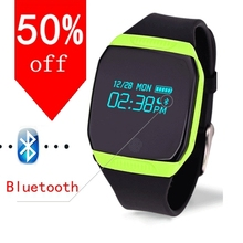 Bluetooth sport smart watch WristWatch MTK CPU sport Pedometer using at the time of swimming Smartwatch for Android Smartphone