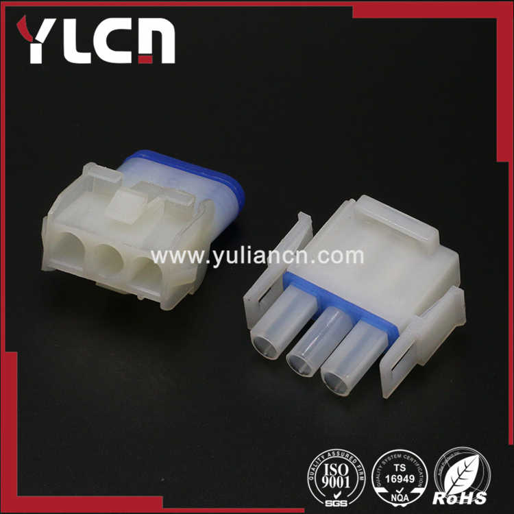 Connector Housing Pack of 20 Universal MATE-N-LOK Series 6.35 mm, 8 Positions Receptacle 926308-1