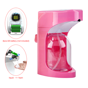 Image 4 - 500 ml 자동 폼 Soap 디스펜서 용 액 Soap 벽 잘 고정 된 디스펜서 Smart Sensor 터치리스 (touchless 욕실 주방 디스펜서에