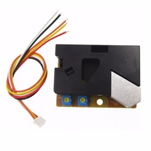 лучшая цена 10PCS Air DSM501A Dust Sensor 100% New and Original Dust Sensor Module PM2.5 Detection Dector