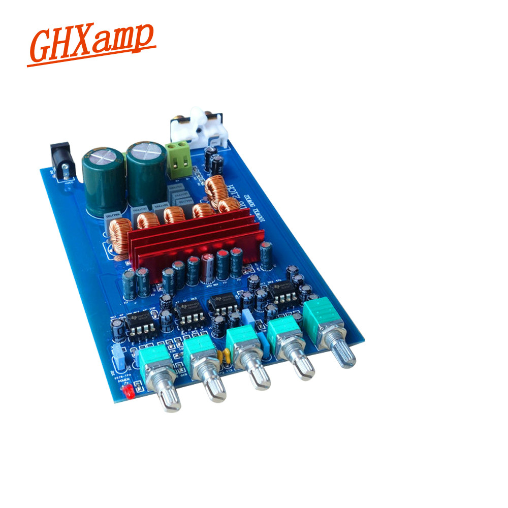 GHXAMP TPA3116 2.1 Subwoofer Amplifier Board Car Digital Audio Amplifier 2X50W + 100W TPA3116D2 Home Bass For Subwoofer Speaker