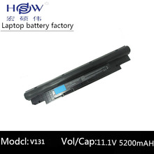 11.1V 5200MAH 6Cell Battery For DELL Vostro V131 V131R V131D 268X5 H2XW1 H7XW1 13Z N311z 14Z N411z Laptop