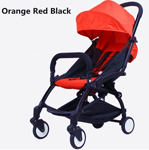 Orange Red black