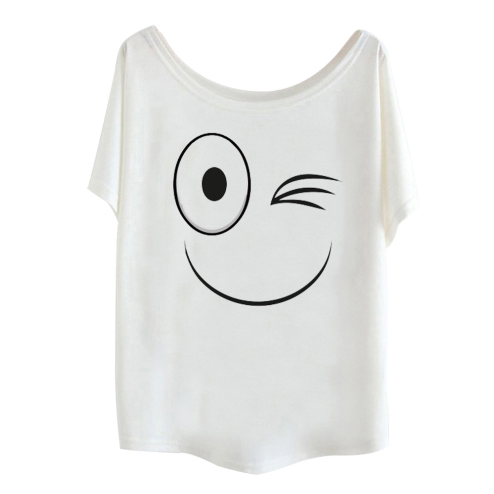 New Arrival Summer Women Funny Figure T Shirt Loose Design