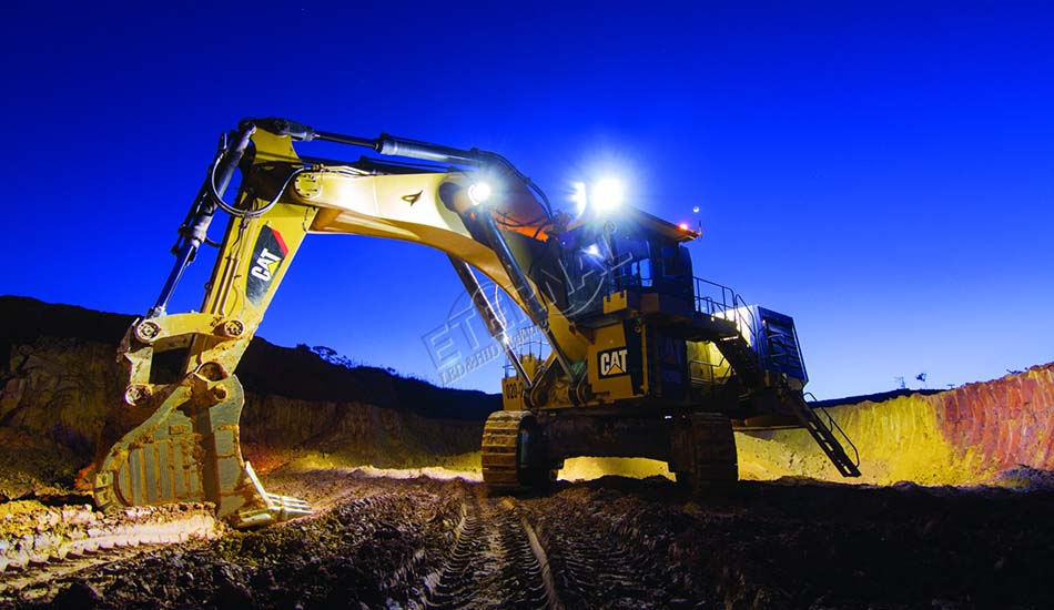 excavator light image