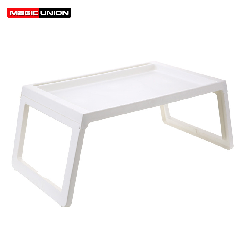 Us 22 99 50 Off Magic Union Simple Laptop Table Folding Computer Ipad Desk Portable Student Studying Table Sofa Bed Dining Table Notebook Stand In