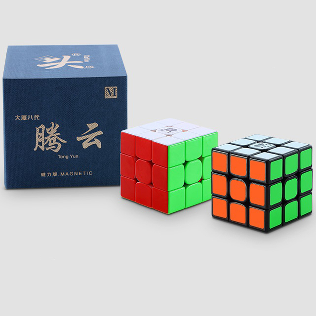 Original Dayan tengyun V2 M 3x3x3 V1 Magnetic Cube Professional Dayan V8 3x3 Magic Cubing Speed  Puzzle Educational Toys for Kid 2