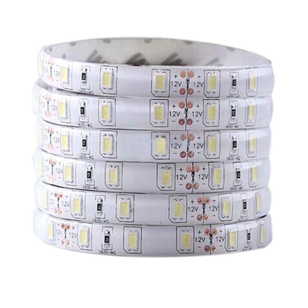 BIFI-2x 5M 12V 300Leds 5630 SMD Waterproof Led Strip Lights Lamp Ultra Bright White