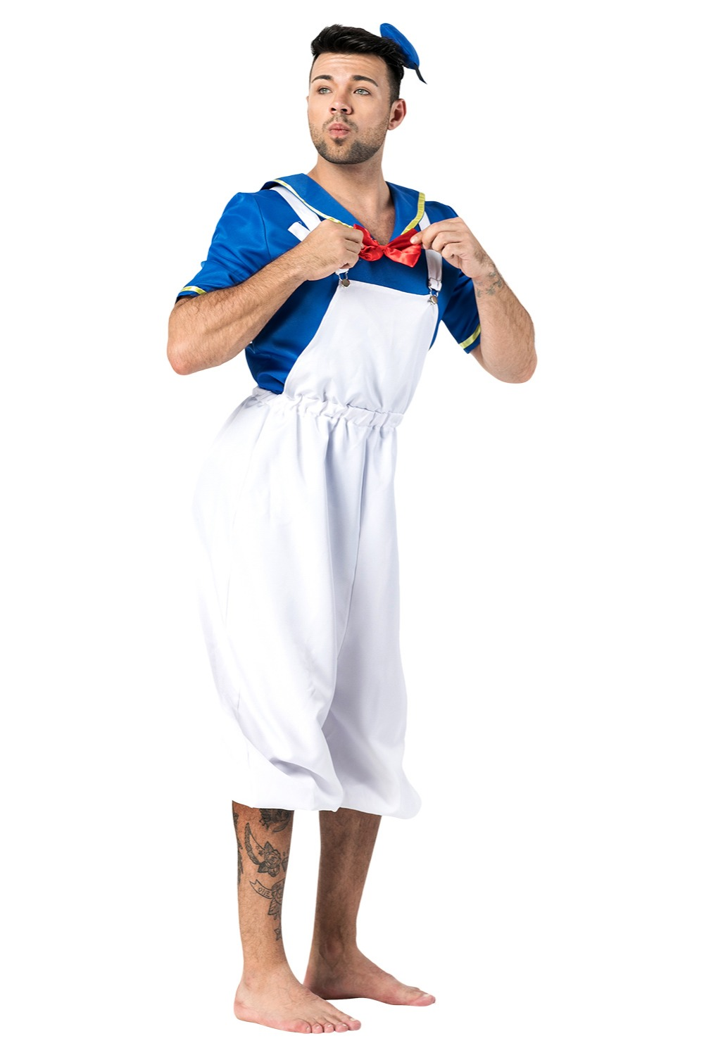 Donald Duck Cosplay Costume Adult Men Boys Simple Style ...