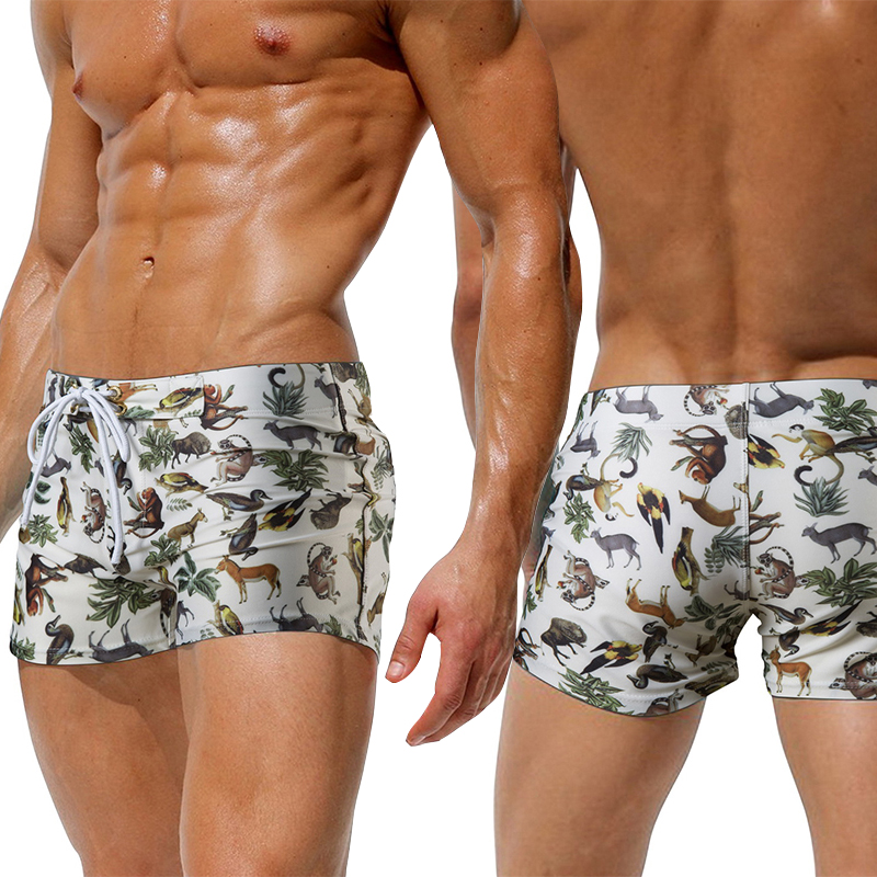 Swimming Trunks Shorts Suit Briefs Beachwear Boxer Bathing Sexy New Male Summer Men Spa