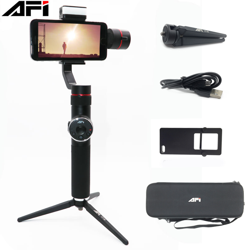 AFI V5 3 Axis Handheld Smartphone Gimbal Phone Stabilizer for iPhone XS XR X 8Plus 8