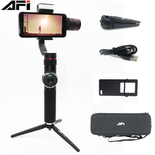 AFI V5 3-Axis Handheld Smartphone Gimbal Phone Stabilizer for iPhone XS XR X 8Plus 8 7P 7 6S Samsung & Gopro Action Camera