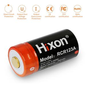 Image 3 - 16pc 700mAh 3.7V RCR123A CR123A 16340 rechargeable battery for Arlo HD Cameras and Reolink Argus UL FCC Certified made by Hixon