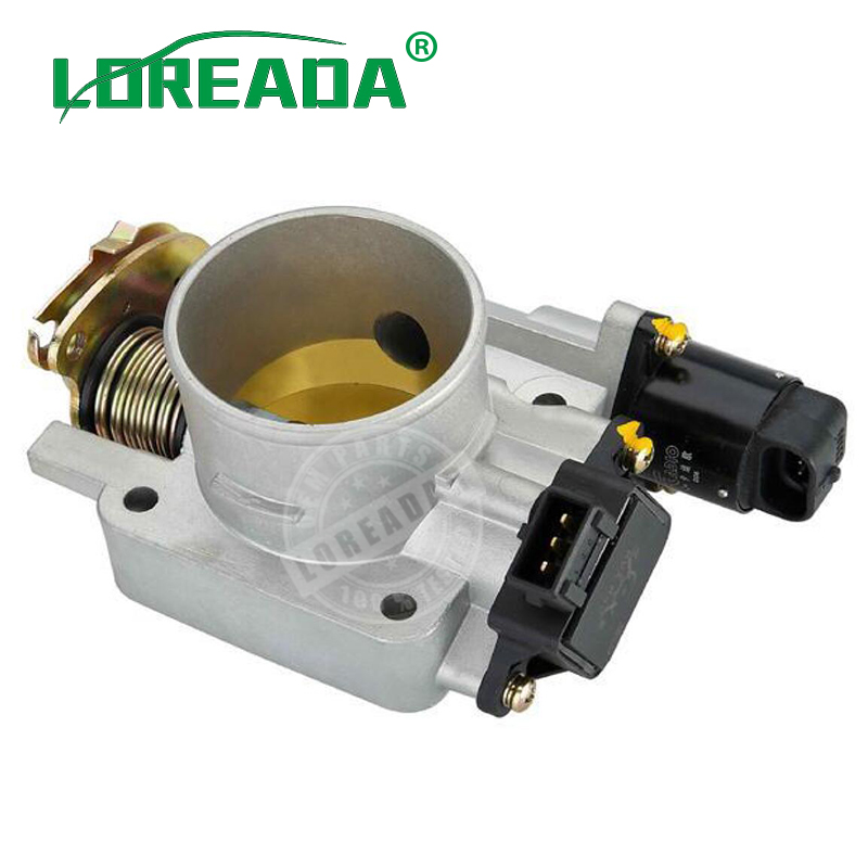 LOREADA Throttle Body ASSY for UAES system Engine Displacement 1.3L/2.7L Bore size 50mm Throttle valve assembly accelerator кукольные домики и мебель classic world кроватка для кукол