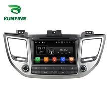4 GB di RAM Octa Core Android 8.0 Navigazione Dell'automobile DVD GPS Multimedia Player Car Stereo per Hyundai IX35 Tucson 2015 2016 2017 Radio