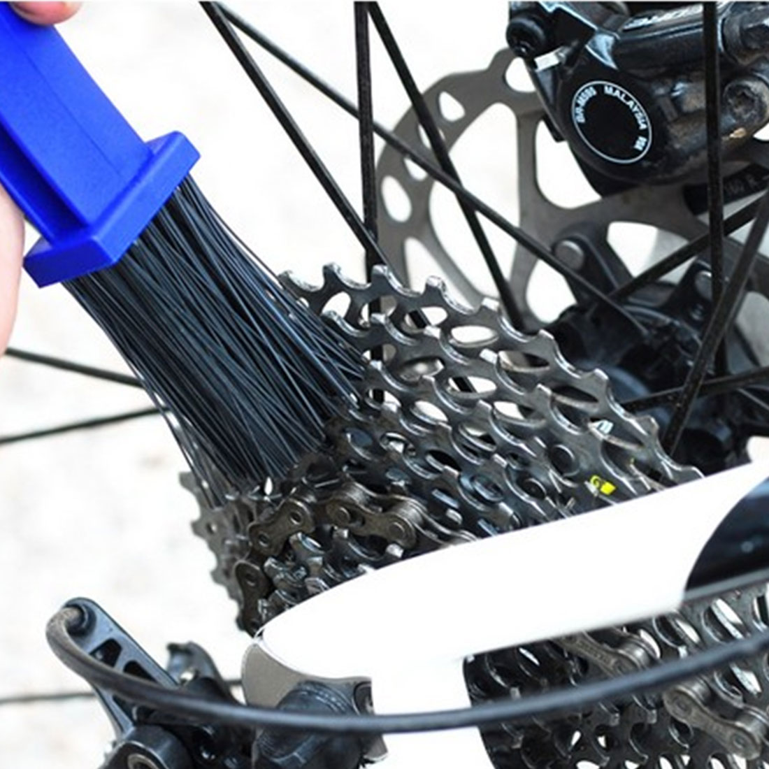 Nový cyklistický motocykl Cyklistický řetěz Čistý kartáč Čistič řetězu Gear Grunge Brush Cleaner Outdoor Cleaner Scrubber Tool bike