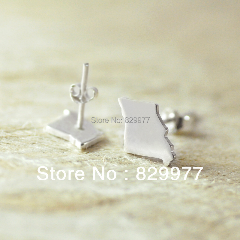 Alloy earring world map earrings personalized jewelry handmade alloy earring world map earrings personalized jewelry handmade state earrings cute gift usafloridageorgiaalabamatexas gumiabroncs Images