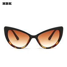 322f7a435d68 HBK 2018 New Retro Sexy Butterfly Cat Eye Sunglasses For Female Women Men  Male Sun Glasses Brown Leopard Black Floral UV400