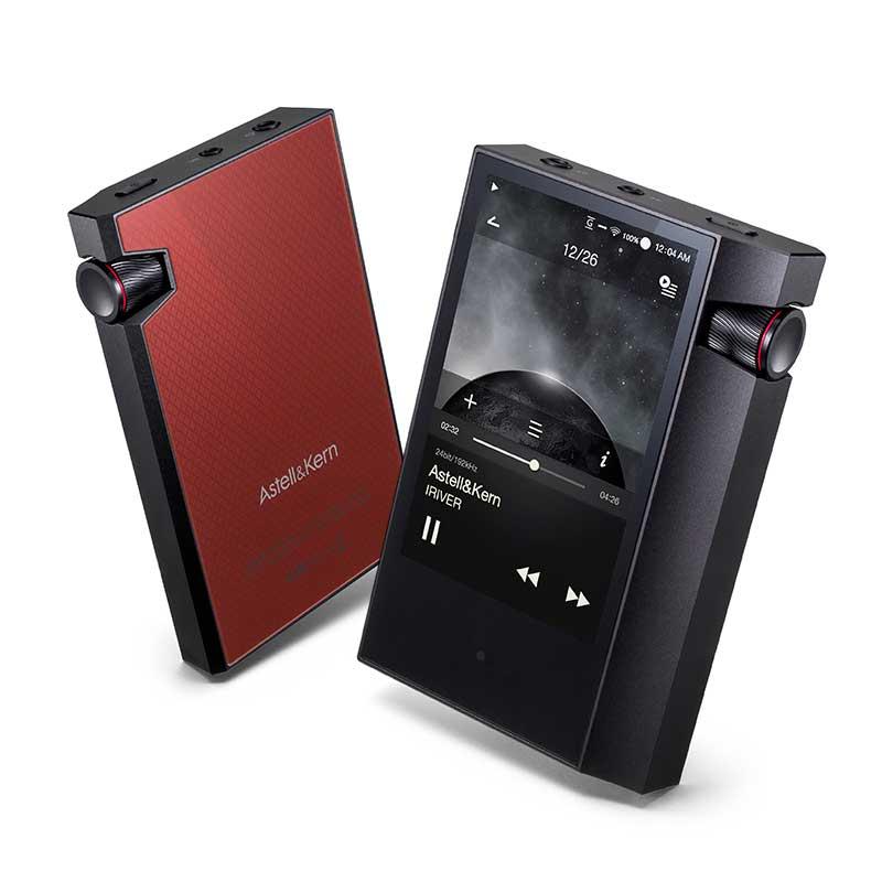 IRIVER. Astell. y Kern AK70 MKII HIFI reproductor portátil de alta resolución Dual DAC de música y Audio, MP3 jugador DAP regalo de la caso de cuero