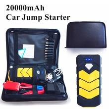 Автомобиль Пусковые устройства Портативный 12 В бензин дизель пусковое устройство Запасные Аккумуляторы для телефонов 20000 мАч автомобиля Зарядное устройство для автомобиля Батарея Booster Starter