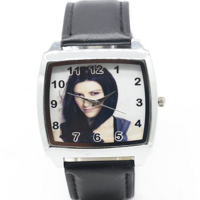 Cartoon Children Laura Pausini Watch Fashion Lovely Cute Kids Watches for Studen