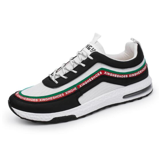 Respirant Adulto 2018 Ipccm Et Black Confortable Maille Sneak Eva Masculino Casual white Hommes Chaussures Mode De Printemps Automne White Tenis black Zd1wpdq0