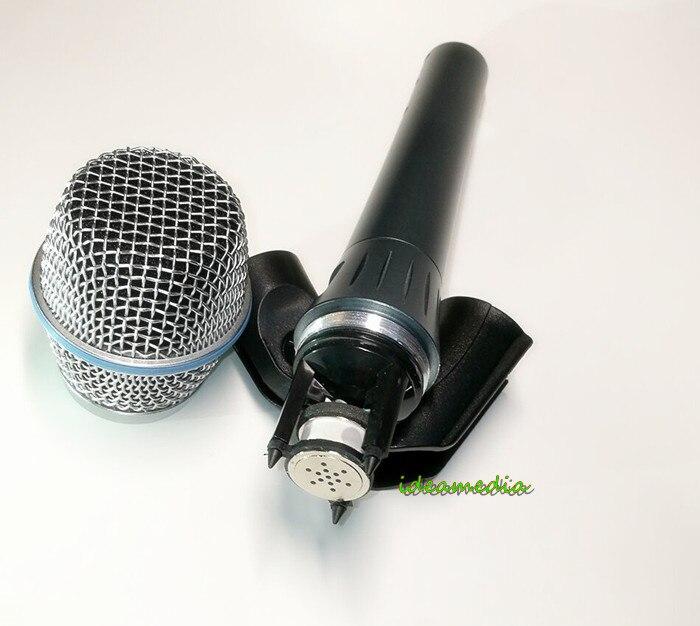 Vocal microfoon vocal condensator microfone supercardioid microfoon wired condensator microfoon microfono beta87 beta 87a-in Microfoons van Consumentenelektronica op  Groep 1