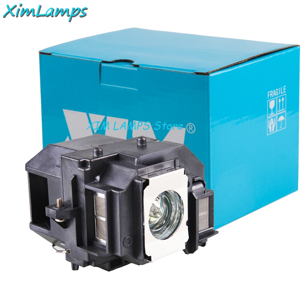 XIM Replacement Projector Lamp with Housing V13H010L56 for EPSON EH-DM3 MovieMate 60 MovieMate 62 Retail Package xim lamps vlt xd500lp replacement projector lamp with housing for mitsubishi xd510 xd500u xd510u ex51u sd510u wd500ust wd510u