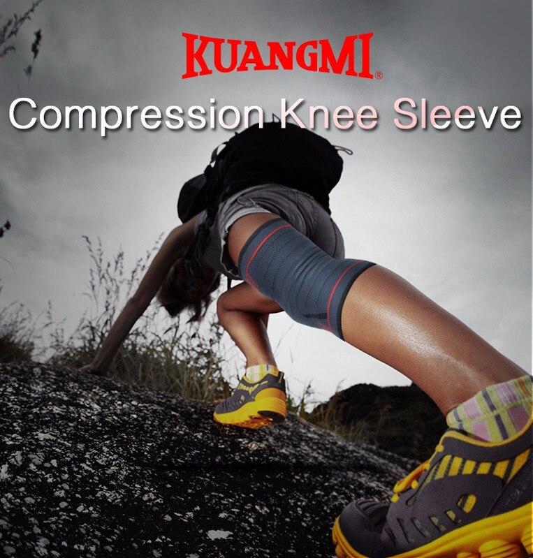HTB1i9WZNVXXXXc4XVXXq6xXFXXXm - Kuangmi 1 PC Compression Knee Sleeve Basketball Knee Pads Knee Support