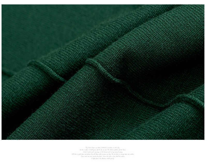 여성을위한 슬림 캐주얼 옐로우 터틀넥 스웨터 기본 가을 풀오버 그린 레이디스 점퍼 겨울 니트 탑 여성 레드 스웨터