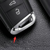 FOR 2016 2017 2018 VW TIGUAN MK2 Car Key Base Cover Trim Sticker
