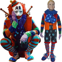 Kids Animal World (2018) clown bonker costume circus outfit Halloween Sci Fi cosplay costume carnival X'mas gift toys