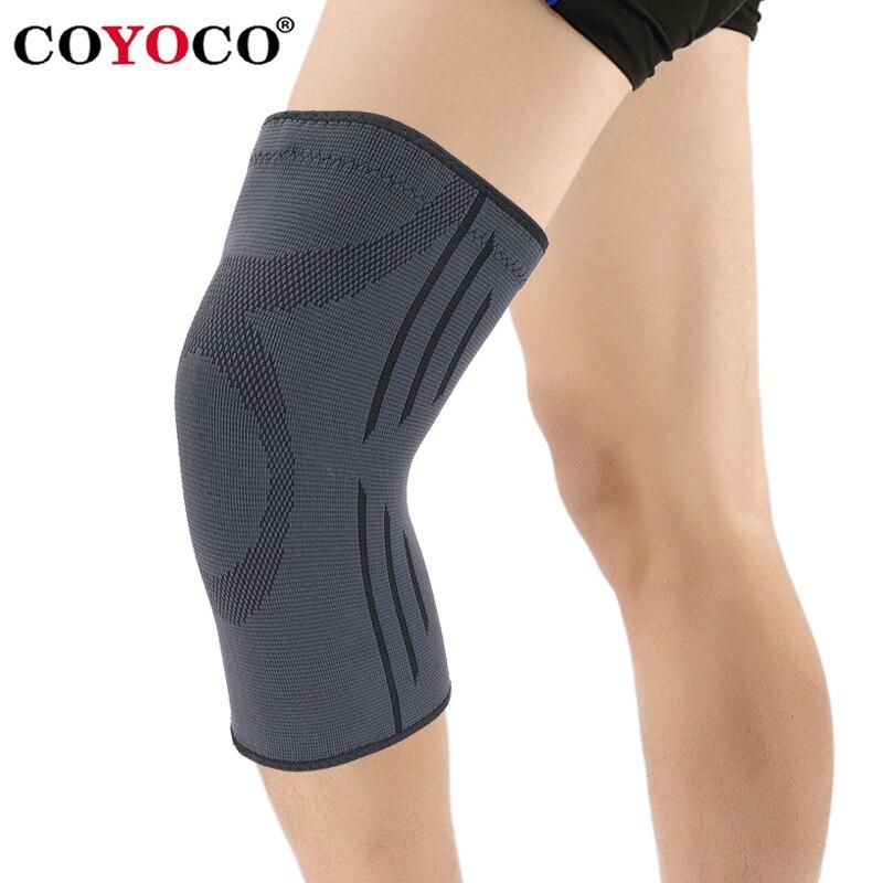 COYOCO 1 stücke Knie Brace Unterstützung Warme für Laufende Arthritis Meniskus Reißen Sport Joint Pain Relief und Verletzungen Recovery Schwarz