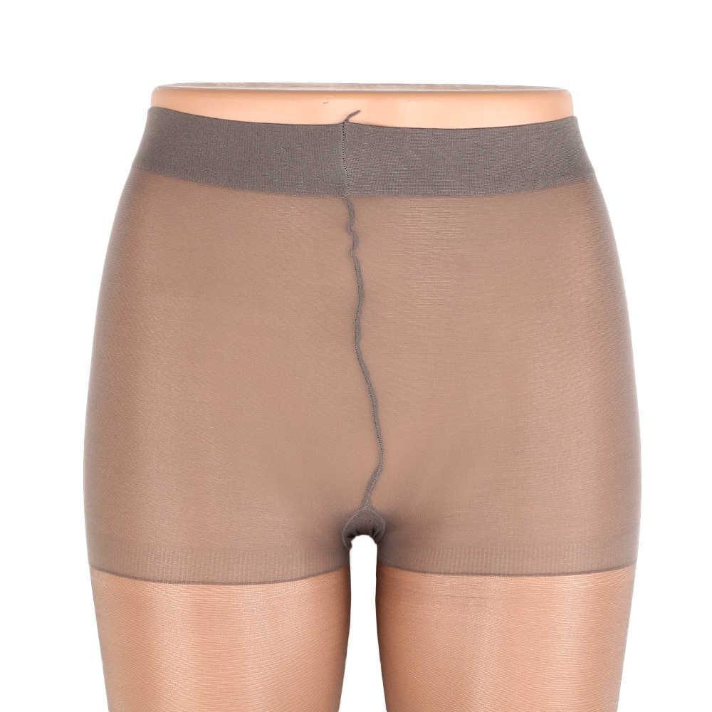 1 pc ฤดูร้อนหญิงแฟชั่นความยาวเต็มสุภาพสตรียืดผ้าไหม Anti - off Cored ลวดปลาหัวเปิดนิ้วเท้า Pantyhose ถุงน่อง