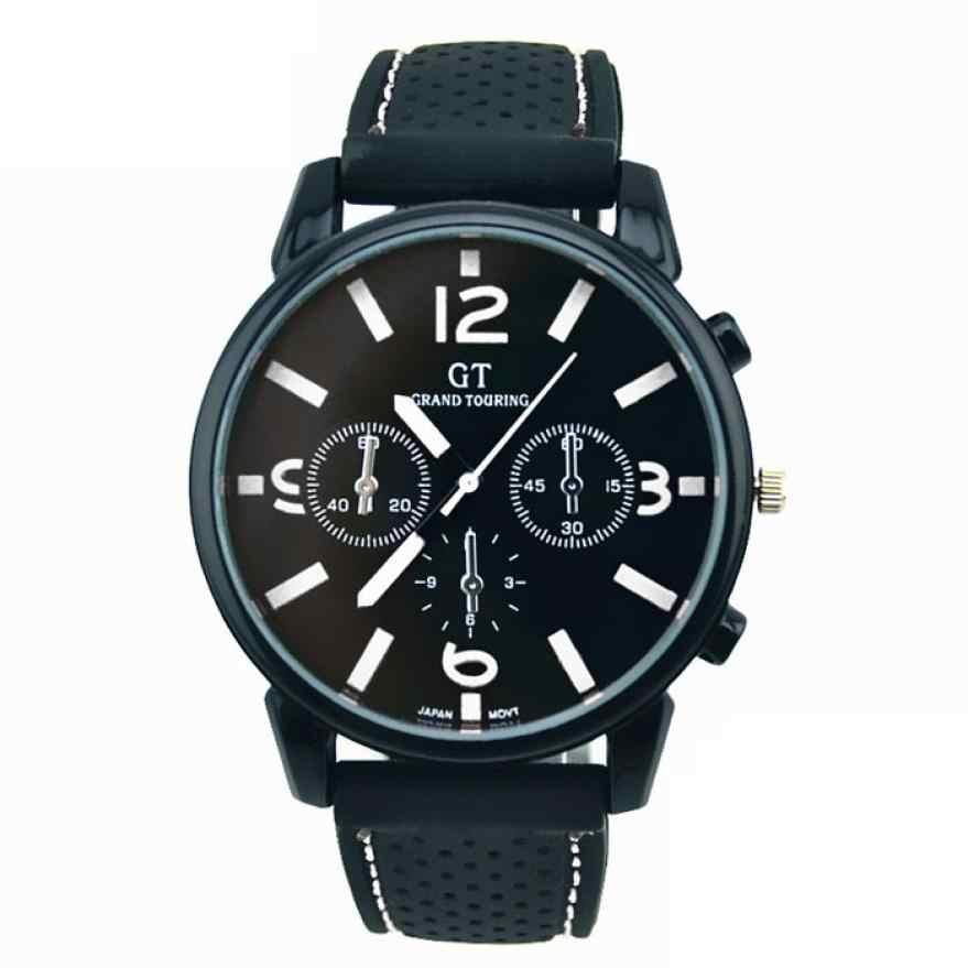 クォーツ時計男性ファッションステンレス鋼な腕時計の時間腕時計アナログ腕時計 RD