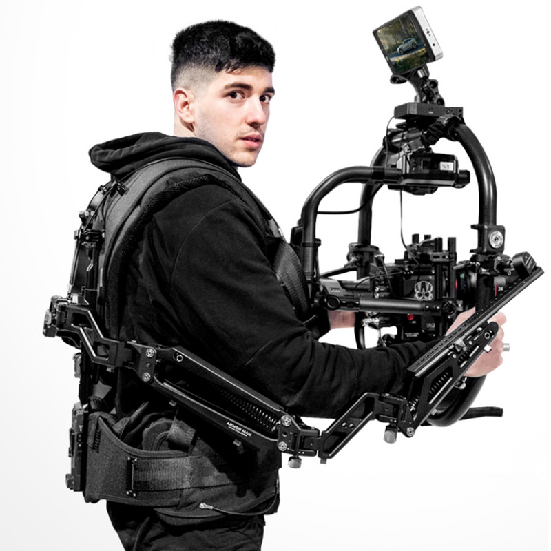 TiLTAMAX ARMOR-MAN ARM-T02 Steadycam Steadicam 3Axis Gimbal Stabilizer Hold Gimbal Support Mount Load 11KG Vest + Arm + Case