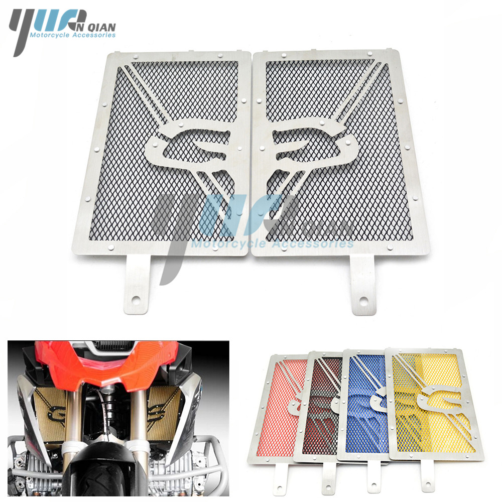 Motorcycle Radiator Grille Guard Protective Case Radiator Grille Guard Cover For BMW R1200GS 2013-2015 R1200GS ADV 2014-2015 radiator grille guard cover for bmw r1200gs 13 15 r1200gs adv 14 15