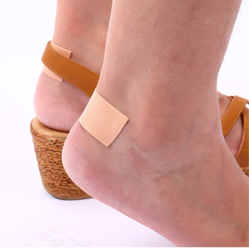 1 Roll 2.5cmx5m Elastic Waterproof Foam Tape Wear-Resistant Bandage Women Foot Sticker Wound Dressing Sports Sprain Treatment