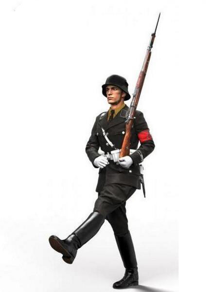1/35 Resin Kits WWII German Soldier 1pc