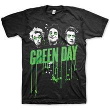 купить Vintage T Shirts Green Day 'Drips' Men'S Crew Neck Short-Sleeve Top T Shirt по цене 784.72 рублей