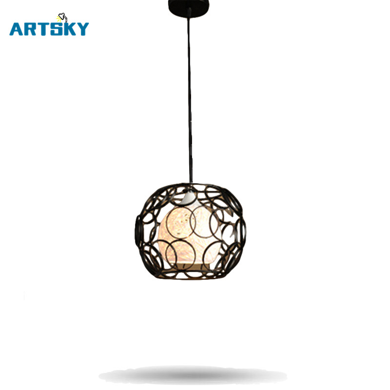 Nordic Modern Industrial Style Pendant Lighting  Art Creative Pendant Lamp Dining Room Bedroom Study Lamps a1 master bedroom living room lamp crystal pendant lights dining room lamp european style dual use fashion pendant lamps