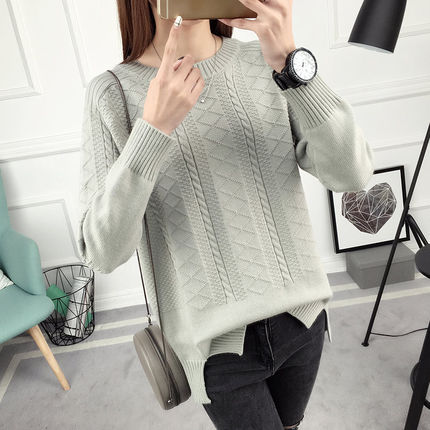 3eb8288ae High Quality Women Sweater 2019 Female Winter Sweaters And Pullovers Jumper  Knitted Oversized Tops Sweater Pull Femme New -in Pullovers from Women s ...