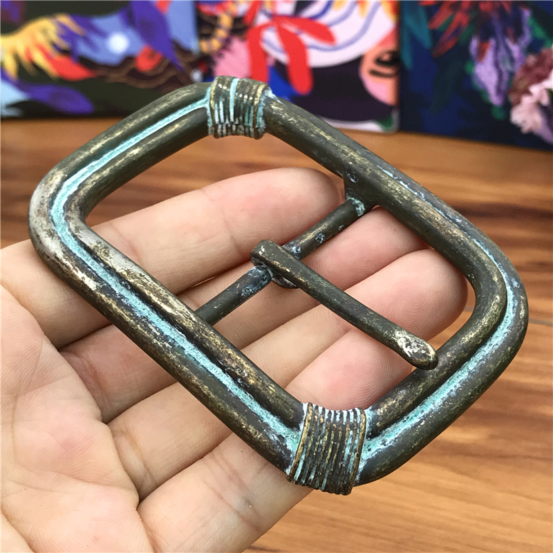Vintage Belt Buckles For Men Pin Belt Buckle Leathercraft Accessories Men Belt Metal Buckle Belt Clip Boucle AK0043