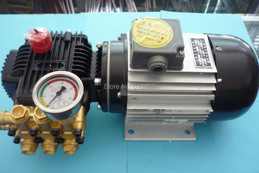 US $340 0 |TZ 310 High Pressure Water Pump 0 11mpa 550W w/ Ceramic Plunger  YS80 4 3 Phase Asynchronous Motor, EDM Drilling Machines Parts-in Wire EDM