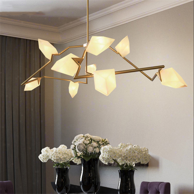 Nordic Loft Art Deco Fireflies Led Chandelier Bedroom Dining Room LED Pendant Lamps Lighting Fixture Kitchen Hanging Lamps AvizeNordic Loft Art Deco Fireflies Led Chandelier Bedroom Dining Room LED Pendant Lamps Lighting Fixture Kitchen Hanging Lamps Avize